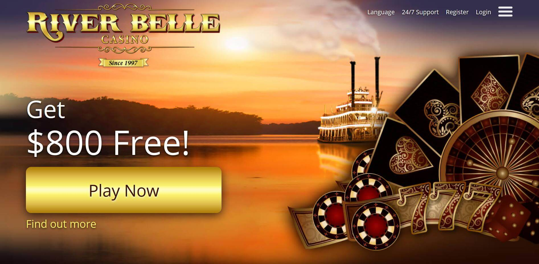 River belle casino review: is the interface user friendly ?